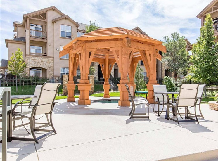 The Village at Legacy Ridge Apartments | Poolside Picnic Areas