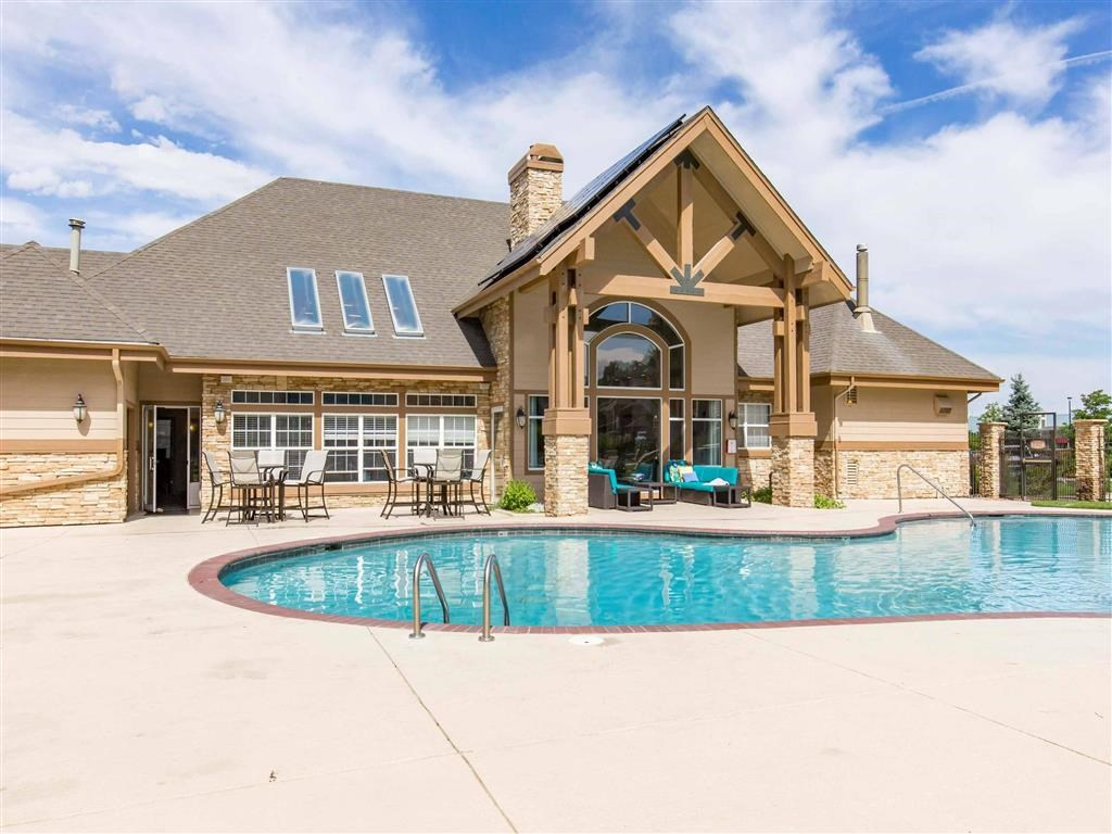 The Village at Legacy Ridge Apartments   Swimming Pool and Clubhouse