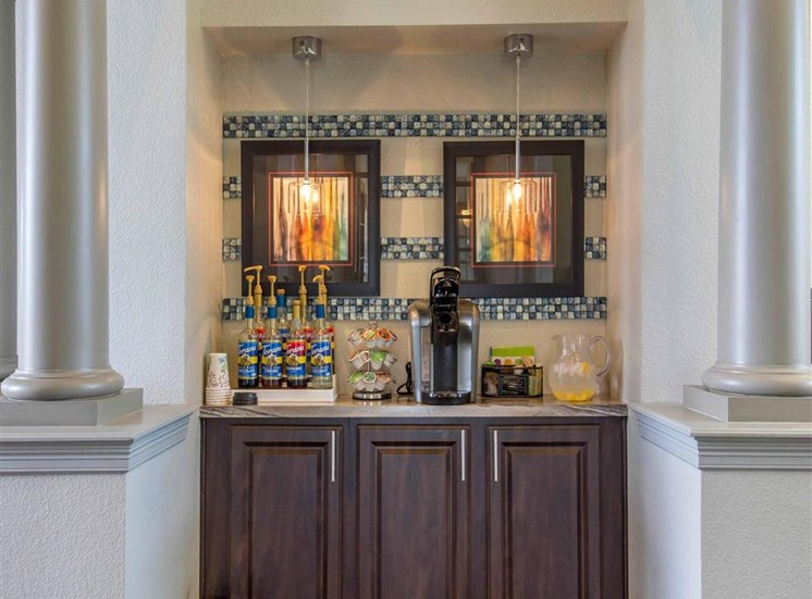 The Village at Legacy Ridge Apartments | Complimentary Coffee Bar