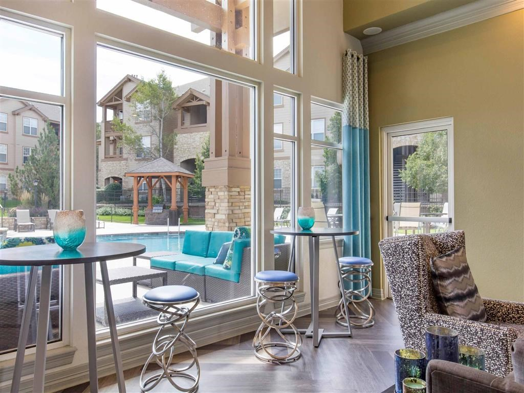 The Village at Legacy Ridge Apartments   Clubhouse Lounge Area