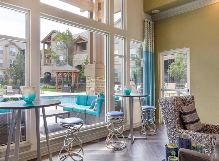 The Village at Legacy Ridge Apartments | Clubhouse Lounge Area