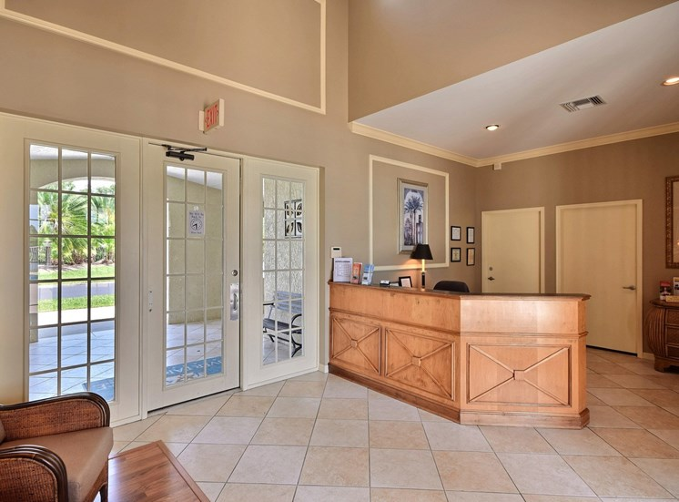 Leasing Office Entryway at River Park Place Apartments, Vero Beach, 32962