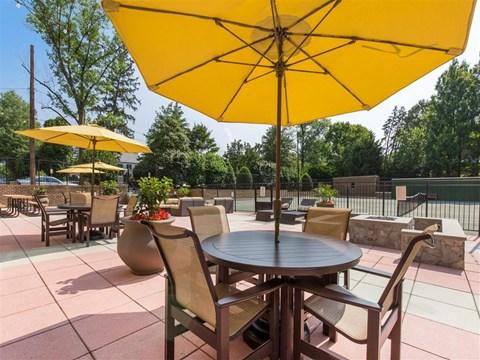 Ellicott House | Apartments for Rent Washington, DC | Rooftop Terrace