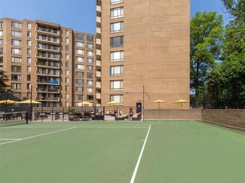Ellicott House | Apartments for Rent Washington, DC | Tennis Court