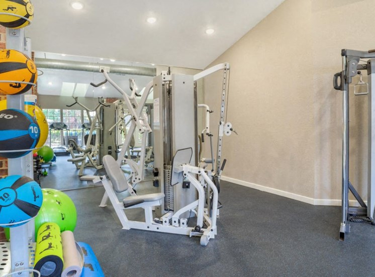 Bright Fitness Center Strength and Conditioning Equipment
