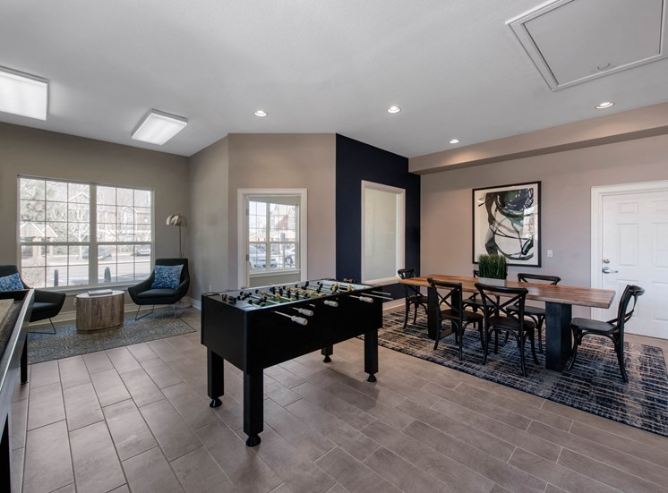 The Estates at Tanglewood  Billiards and Game Room
