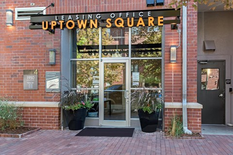 Uptown Square| Leasing Office