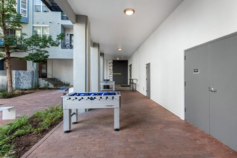 Uptown Square| Courtyard and Foosball Table