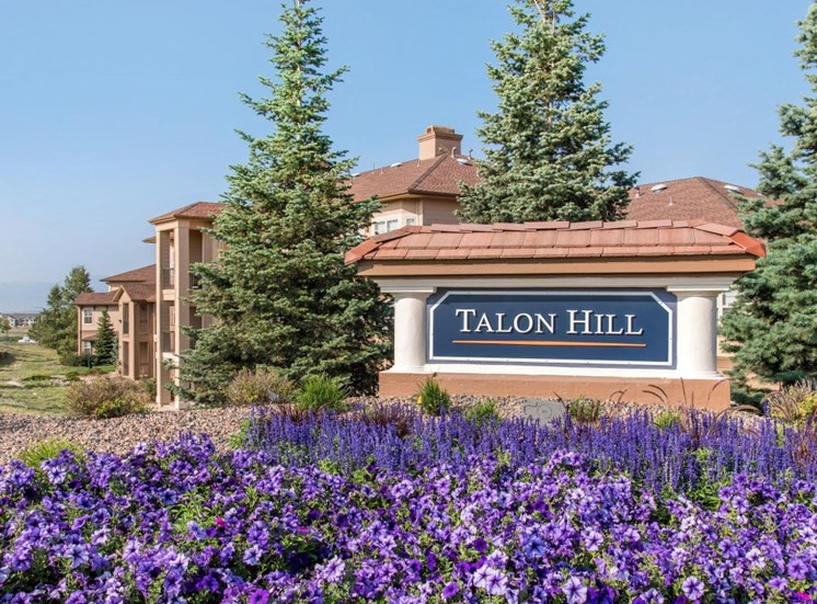 Talon Hill Apartments | Entrance