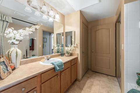 Talon Hill Apartments | Bathroom