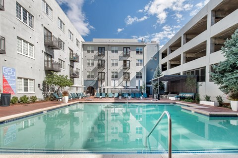 Uptown Square Apartments| Swimming Pool