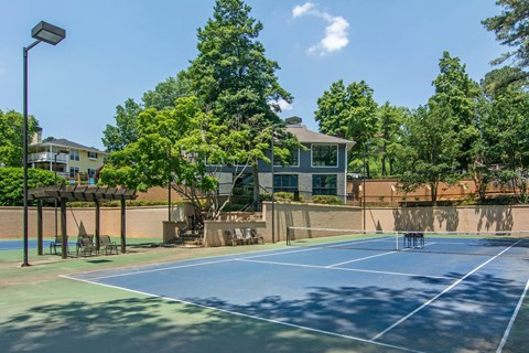 Dunwoody Village Sports Court with Lights