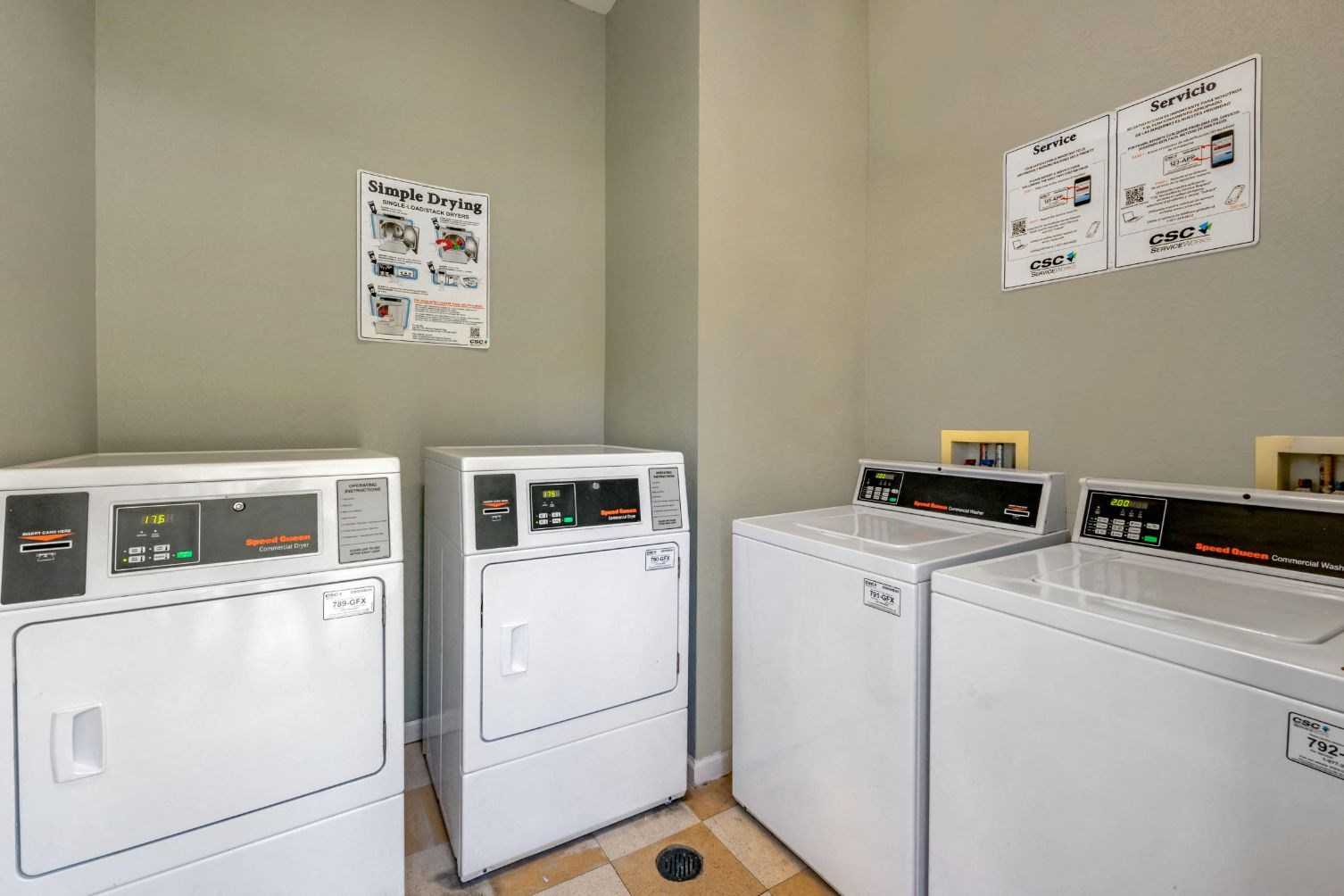 Whispering Woods | Onsite Community Laundry Center