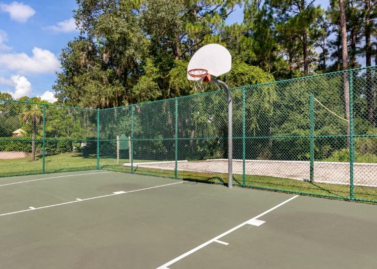 Whispering Woods | Basketball Court