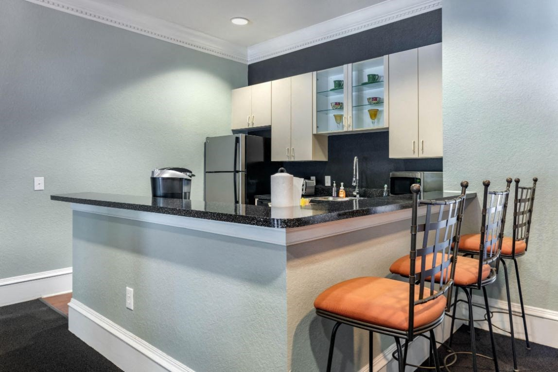 Whispering Woods | Clubhouse Kitchen