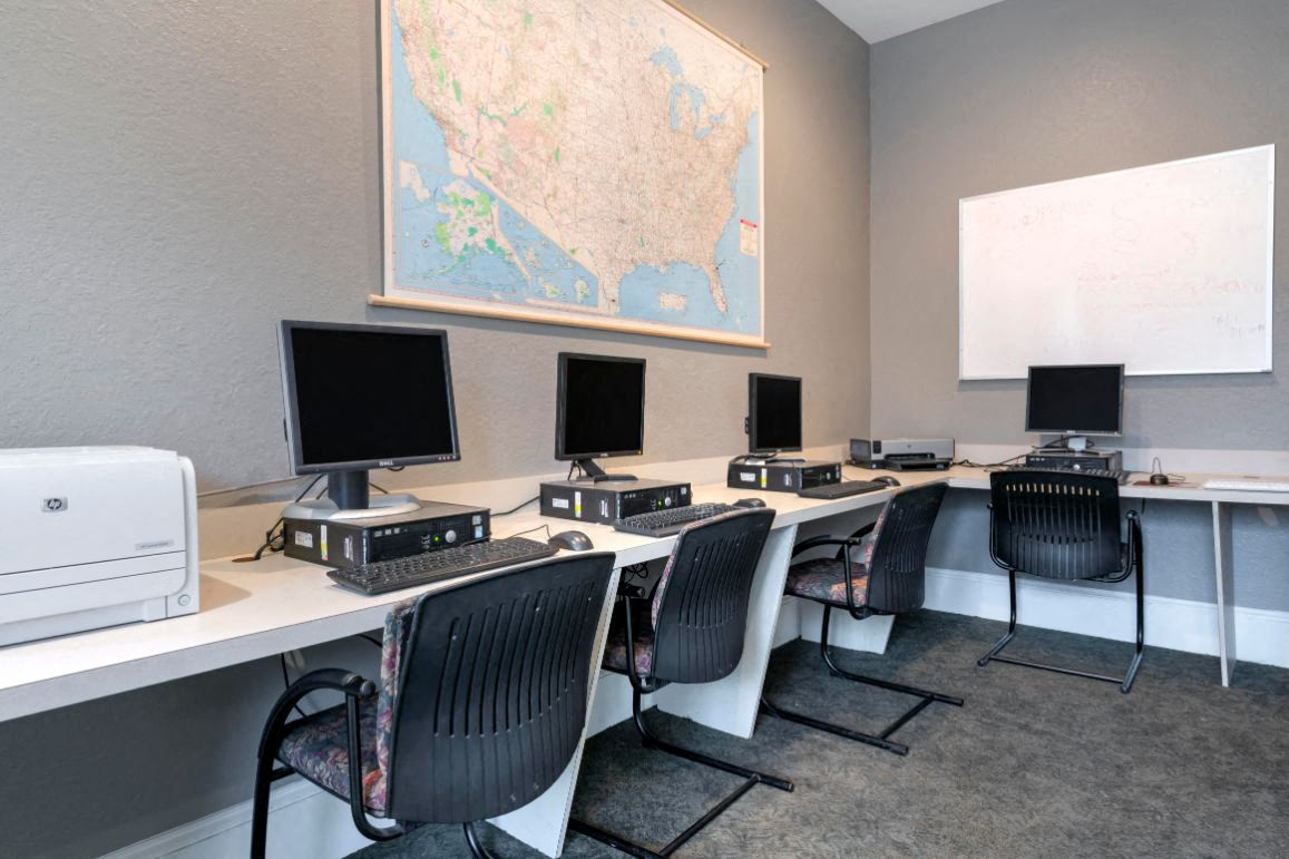 Computer Lab with High Speed Internet Access