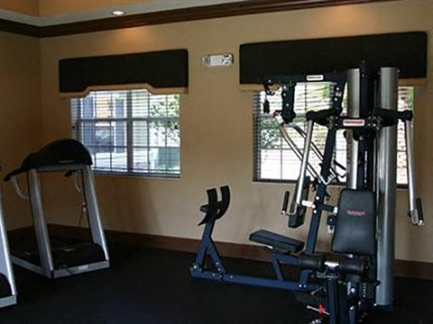 Fitness Center with Exercise Equipment