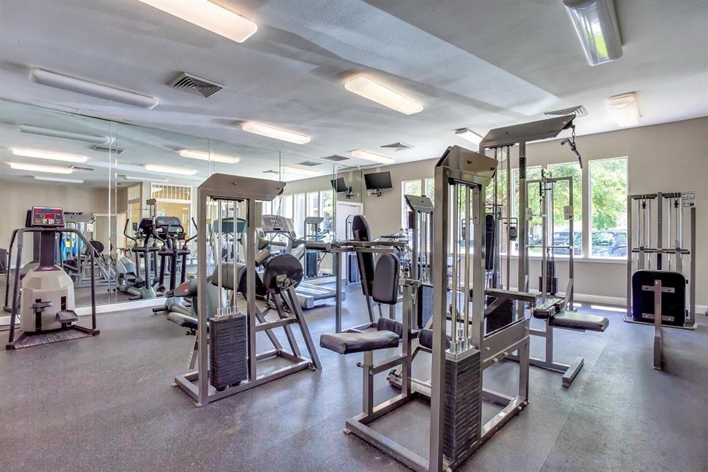 Fitness Center Weight Training Equipment