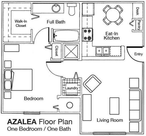 Floor Plans Of Wilmington Apartments In Lakeland, FL