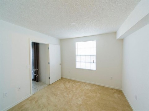 Carpeted Bedroom with a Window