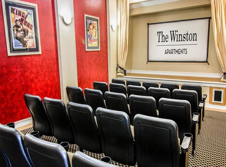 The Winston Apartments | Theater Room