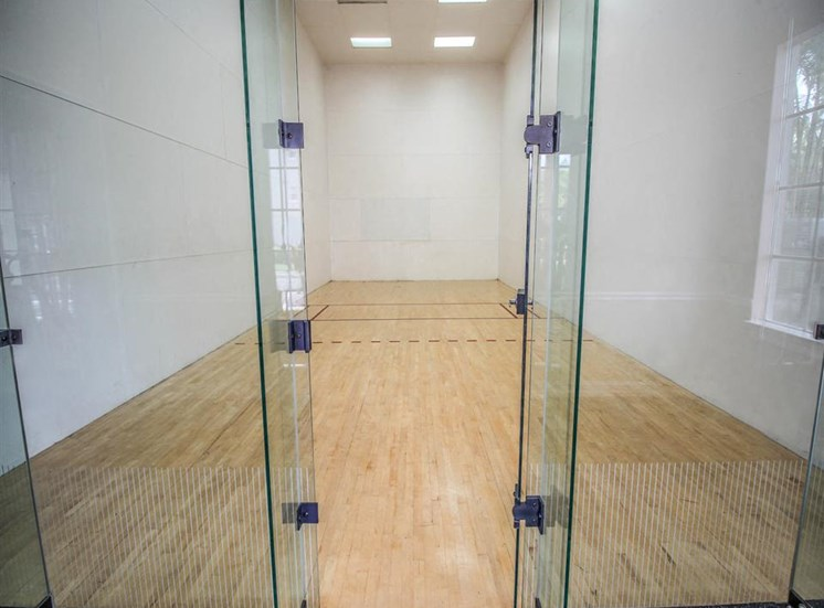 The Winston Apartments | Racquetball Court