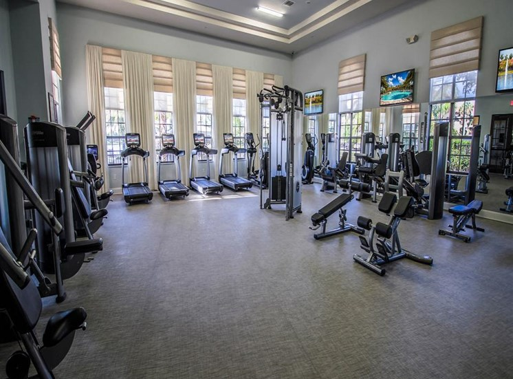 Park Aire Apartments | Strength and Cardio Fitness Center