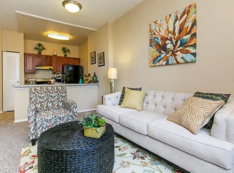 Living Room model with couch and chair