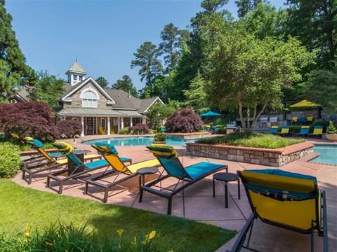 Swimming Pool | The Retreat at Kedron Village Apartment Homes Peachtree City, GA