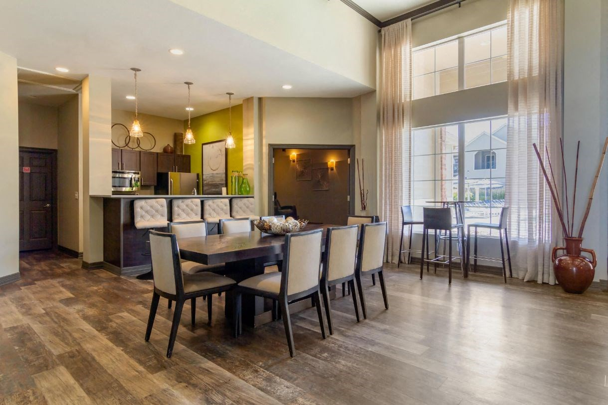Legacy Heights Apartments | Clubhouse Kitchen