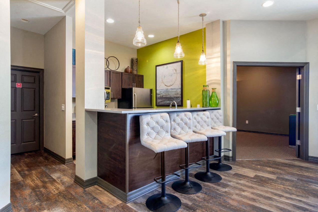 Legacy Heights Apartments | Clubhouse Kitchen Area