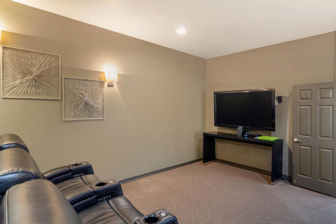 Legacy Heights Apartments | Resident Theater Room
