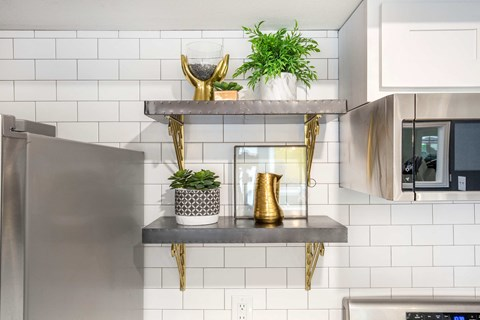 Clubhouse Kitchen Shelving