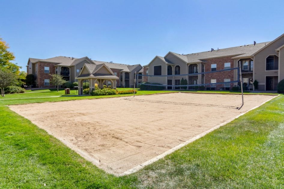 Legacy Heights Apartments | Sand Volleyball