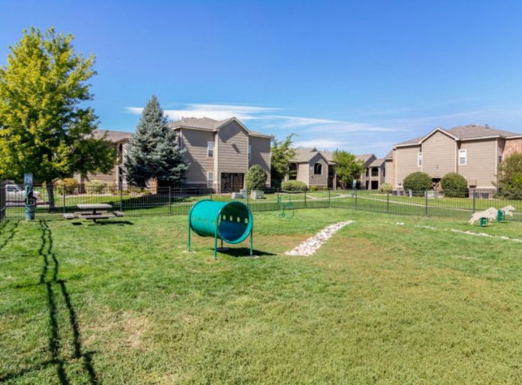 Legacy Heights Apartments | Dog Park Area