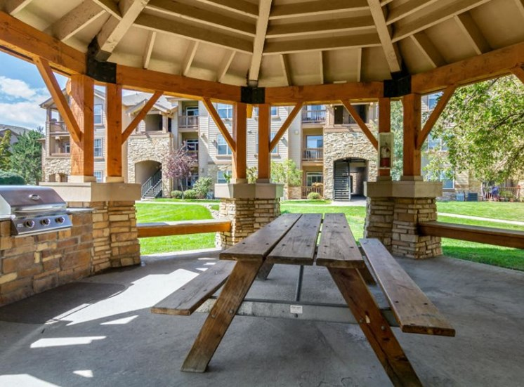 The Village at Legacy Ridge Apartments | Picnic Area with Gazebo