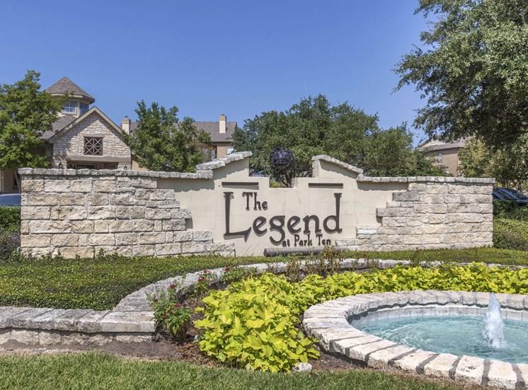 The Legend at Park Ten| Entrance