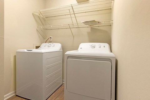 Washer and Dryer Included