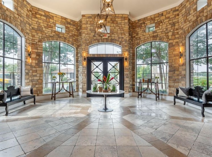 LArge Open Clubhouse Foyer