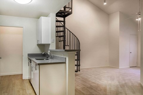 Uptown Square Apartments|Kitchen