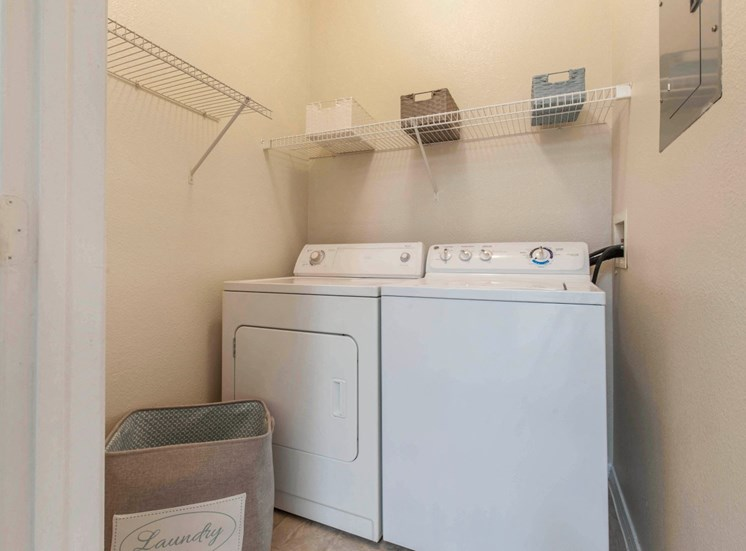 The Estates at Tanglewood  In-home Washer and Dryer