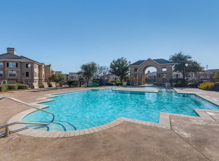 Providence Place Apartments| Pool with Tanning Deck