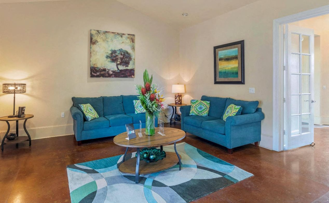 Providence at Marine Creek Apartment Homes | Clubhouse Interior