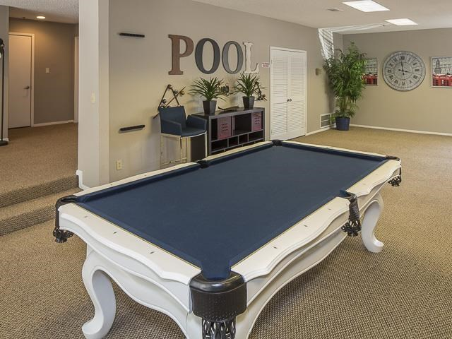 Landmark at Gleneagles Apartments Dallas, TX Billiards and Game Room