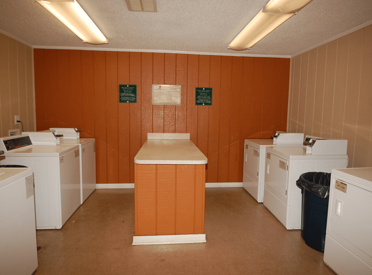Laundry Facilities with Washers and Dryers at Parkview Apartments, Huntersville, NC, 28078