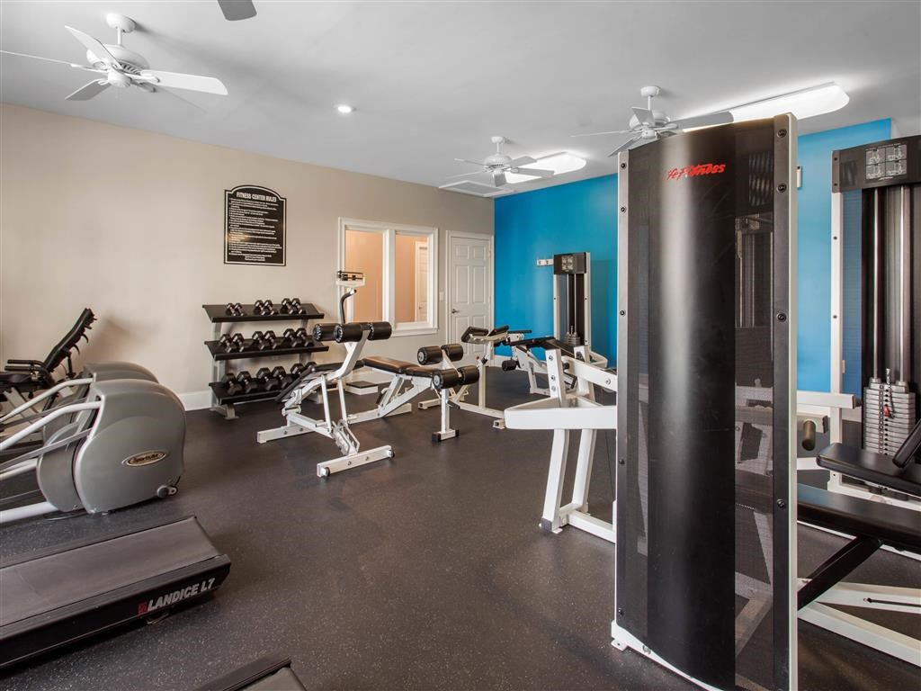 Fitness Center   Landings at Greenbrooke Apartments in Charlotte, NC