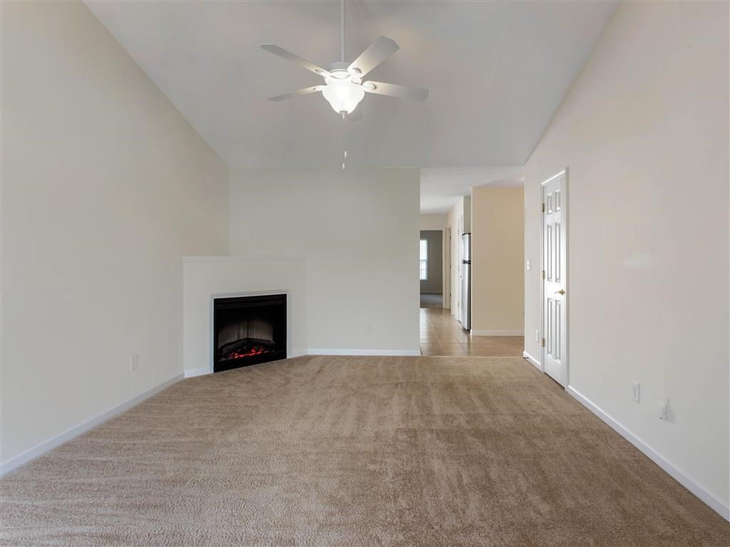 Fireplace   Landings at Greenbrooke Apartments in Charlotte, NC