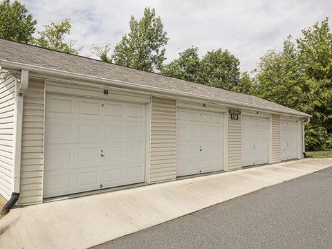 Detached Garages   Landings at Greenbrooke Apartments in Charlotte, NC