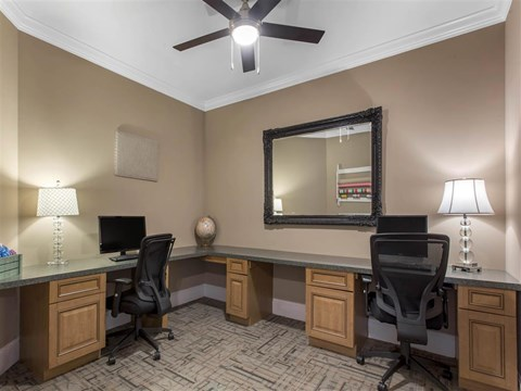 Business Center | Landings at Greenbrooke Apartments in Charlotte, NC