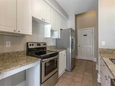 Kitchen | Reserve at River Walk Apartment Homes Columbia, SC